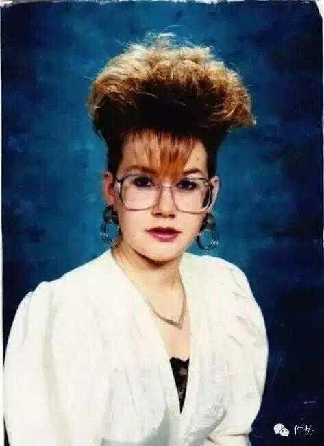 八十年代形体 80年代的时髦发型吓死宝宝了图片