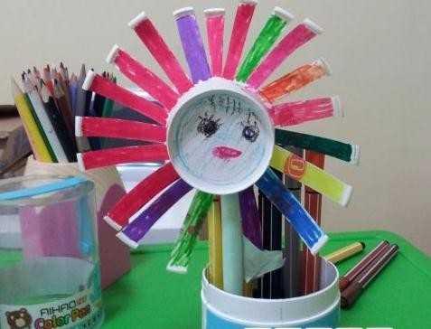 小学生环保手工制作 小学生环保手工作品图片