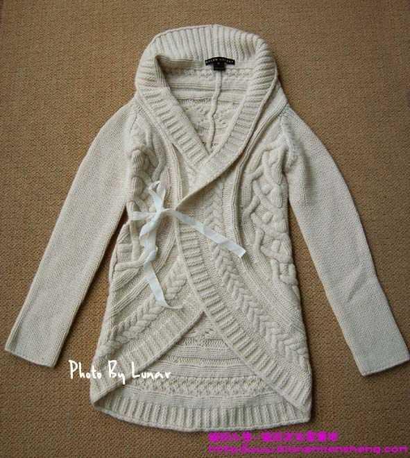女士毛衣编织作品款式,有少量作品图解花样及织法.