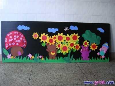 幼儿园教室墙面布置 小班主题墙的创设图片