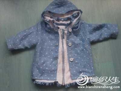 女宝宝外套裁剪图简单 儿童服装剪裁之春秋外套制作方法图解教程
