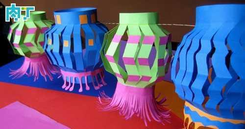 幼儿园手工制作灯笼 手工制作漂亮环保的纸灯笼