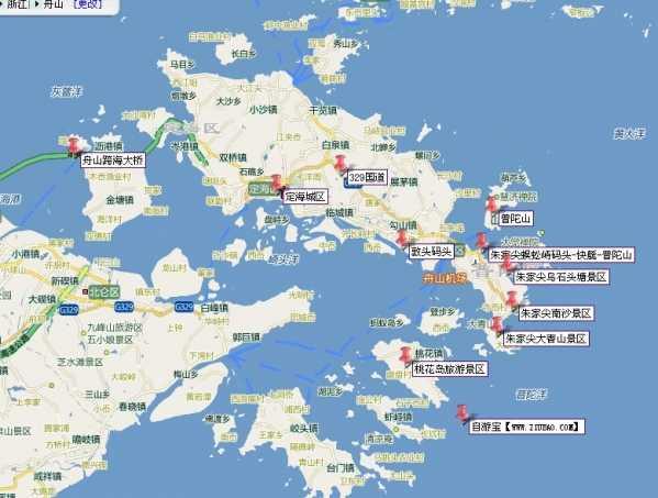 从上海开车去境外旅游 上海到普陀山自驾游攻略
