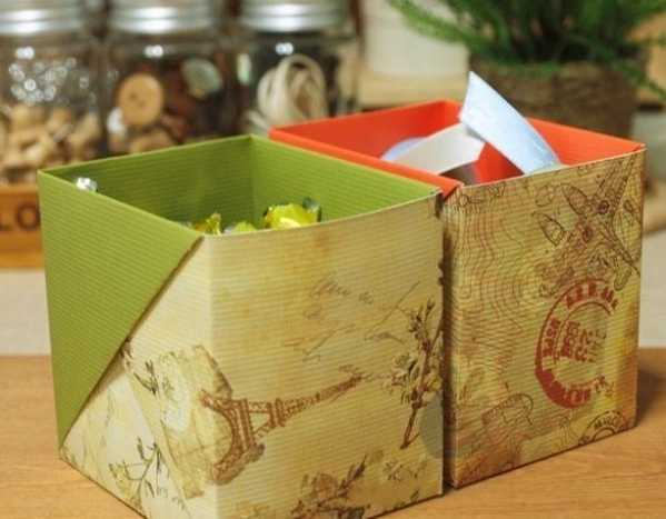 diy收纳盒制作 简单手工折纸收纳盒手工diy制作教程
