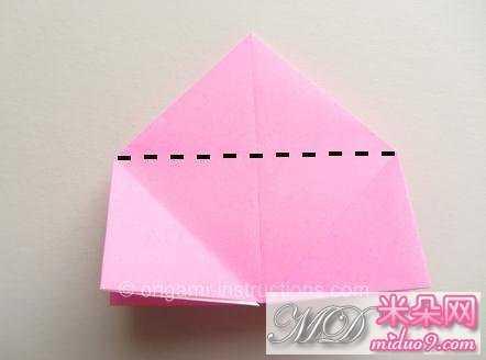 纸玫瑰简单步骤16.