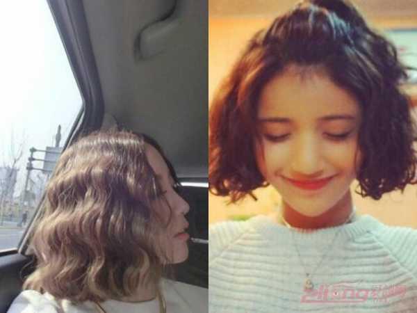 短发蛋卷头教程图解 长短发女生都适合的蛋卷头发型图片