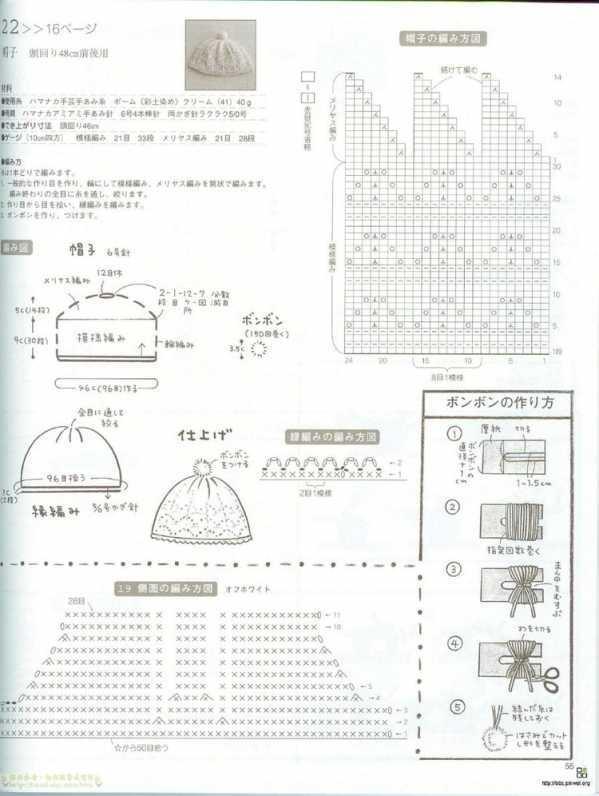 钩针婴儿鞋子教程图解 经典日式钩针宝宝鞋编织图解文字解说教程