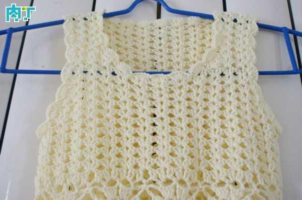 怎样编织宝宝连衣裙 漂亮的连衣裙编织花样