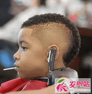 雕刻动物男宝宝发型 小男孩流行发型图片大集合图片