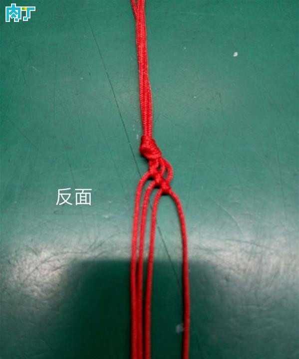 细红绳手链编法图解 简单漂亮的红绳手链编法详细图解