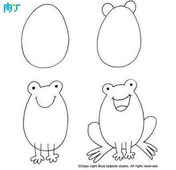 世界上最简单的画教学 十篇简单易学的儿童画简笔画小