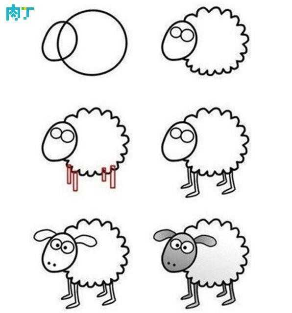 世界上最简单的画教学 十篇简单易学的儿童画简笔画小动物速学教程