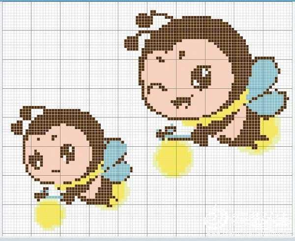 儿童毛衣十字绣图案 多款男女宝宝都可以穿卡通图案套