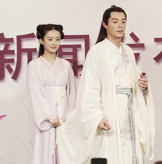 霍建华赵丽颖反目 揭霍建华赵丽颖绯闻图片