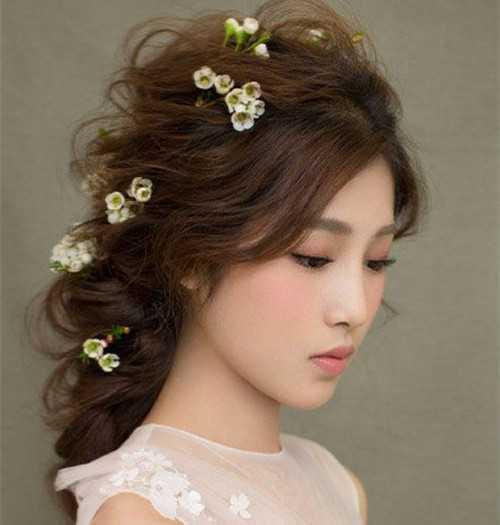 新娘造型图片 创意新娘妆造型注意事项