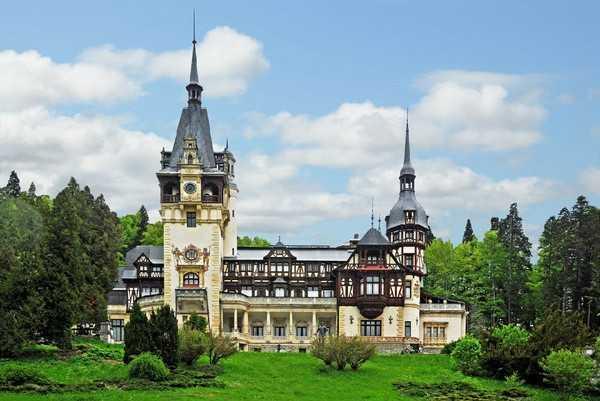 欧洲庄园 欧洲最华丽的18座古城堡