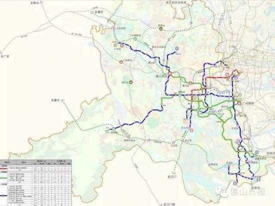佛山地铁3号线线路图 佛山地铁3号线2021年底建成