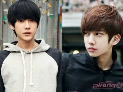 14岁中学生长发头型男 最显帅气的15岁男学生发型图图片