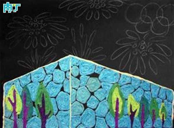 大型皱纹纸粘贴画 用皱纹纸制作个性贴画制作方法步骤