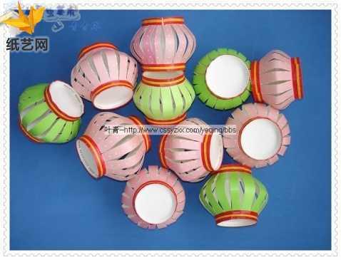 小学生手工制作灯笼 一次性纸杯手工制作灯笼制作方法