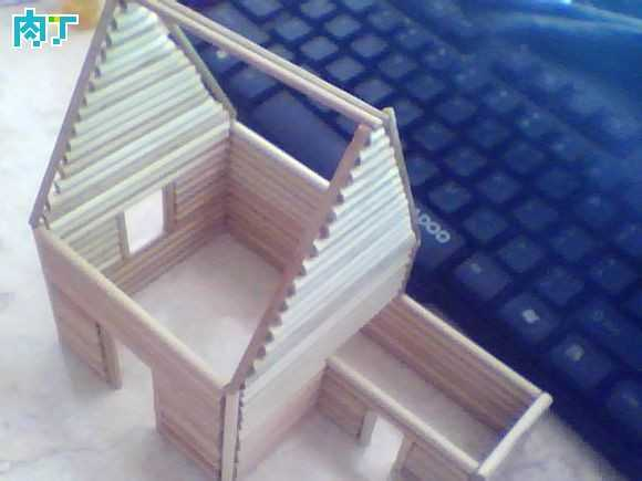 diy手工图纸 竹签手工制作详细步骤diy竹签房子教程及