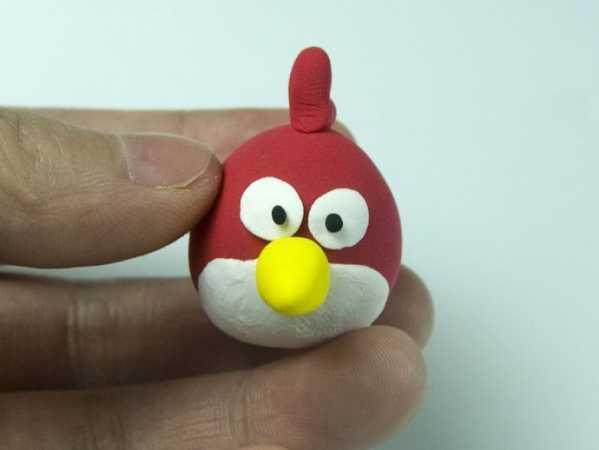 愤怒的小鸟橡皮泥 彩泥—愤怒的小鸟制作全过程