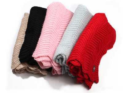 围巾的织法图解 围巾的各种织法